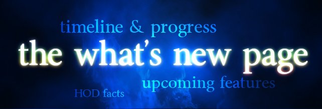 The What's New page