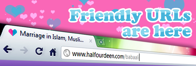 Friendly URLs are here =)
