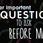 Super Important Questions to ask before marriage.